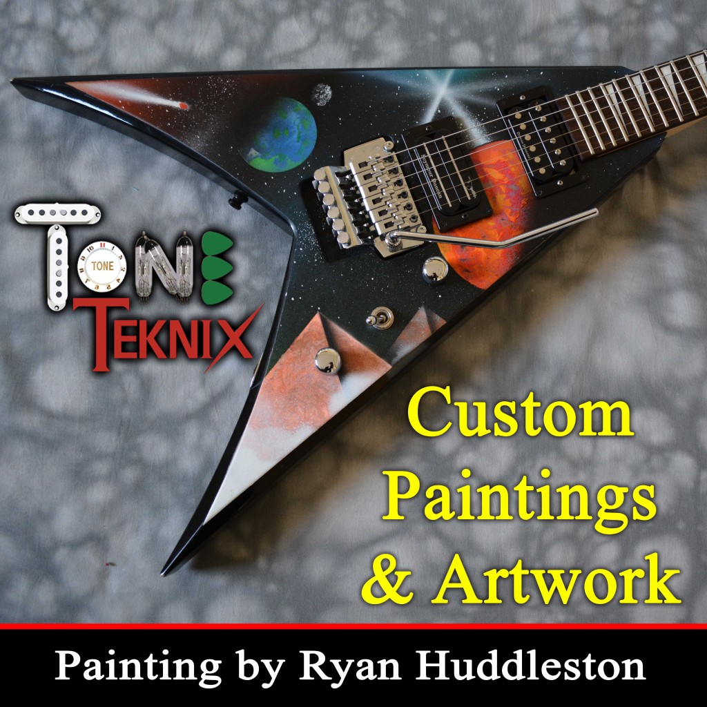Custom Guitar Painting.2