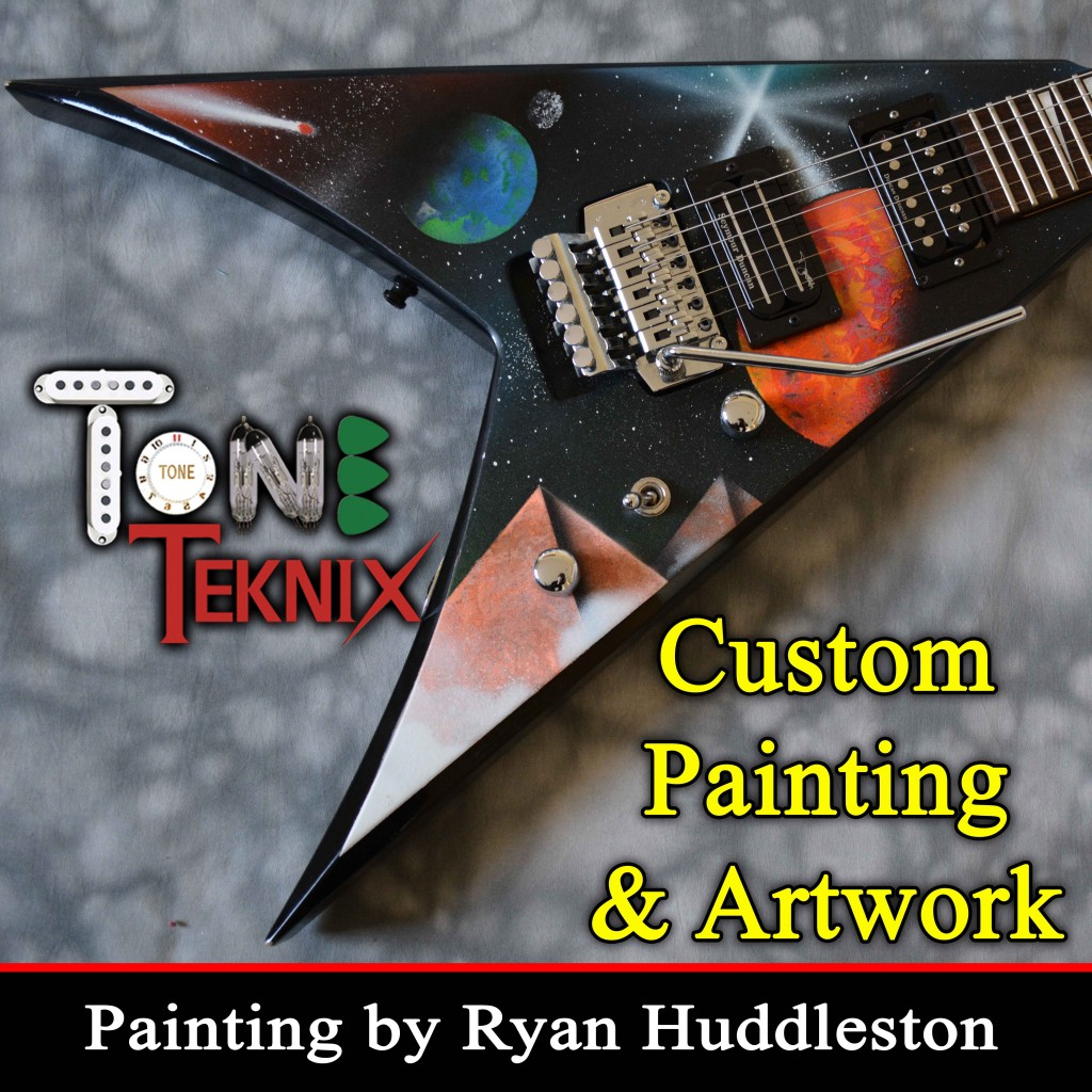 Custom Guitar Painting.4