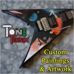 Custom Guitar Painting.4Stroke