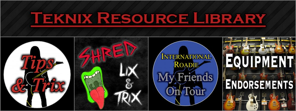 Teknix Resource LibraryRockstar
