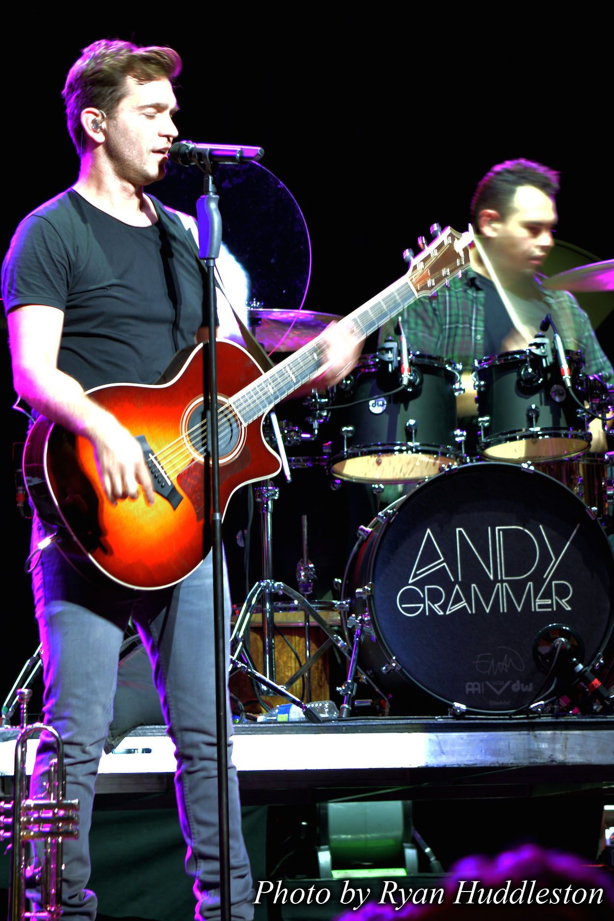 Andy Grammer Train Tour 2015