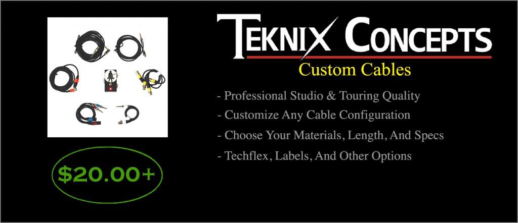 Custom CablesStroke