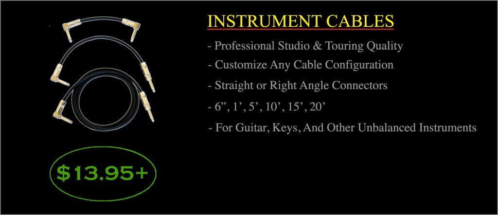 Instrument CablesStroke3