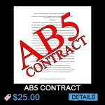 AB5 Contract Related